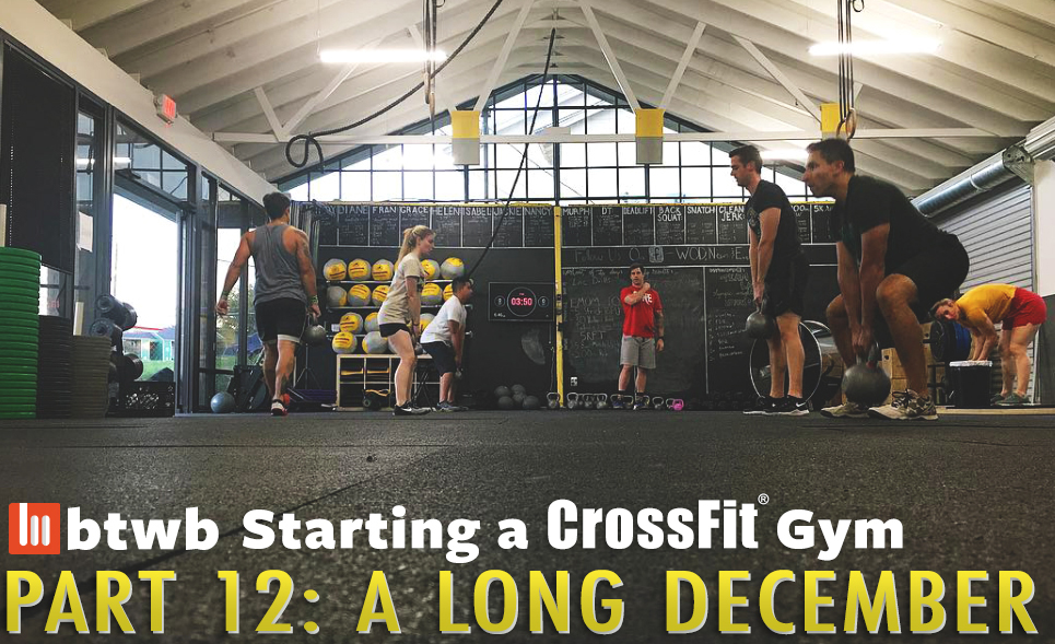 Starting a crossfit gym